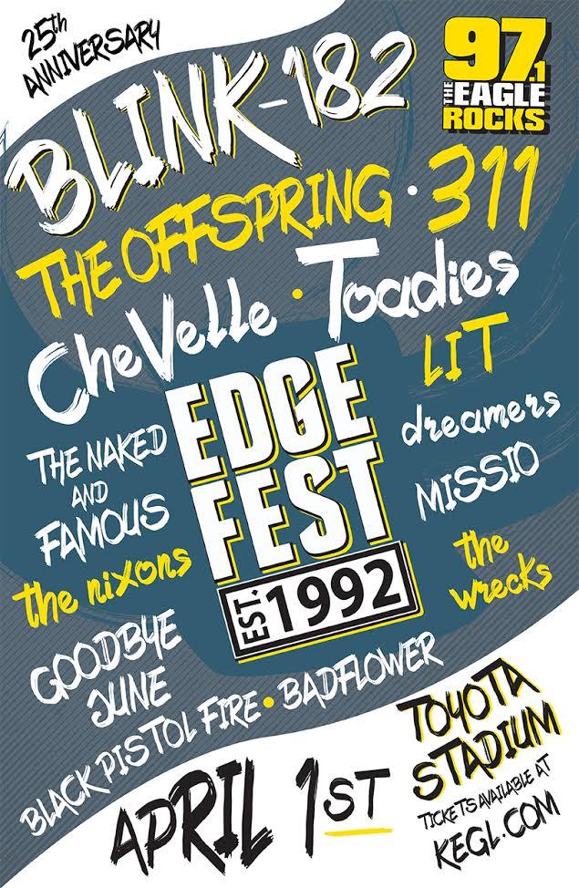 EdgeFest 2017 Line Up Announced