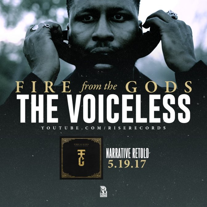 "Fire From the Gods Release ""The Voiceless"" Music Video"